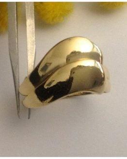 Anello in oro giallo 18kt - gr. 5.96