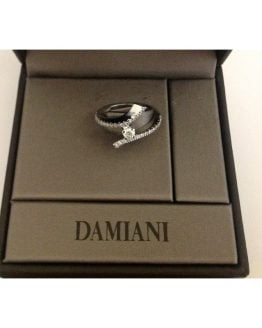 "Anello ""Damiani"" in oro e Diamanti - 18kt Solid Gold Ring"