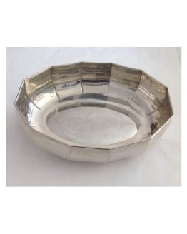 Centrotavola ovale in argento massiccio 800 millesimi