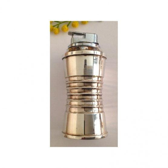 Accendi Sigari in argento 800 millesimi e acciao