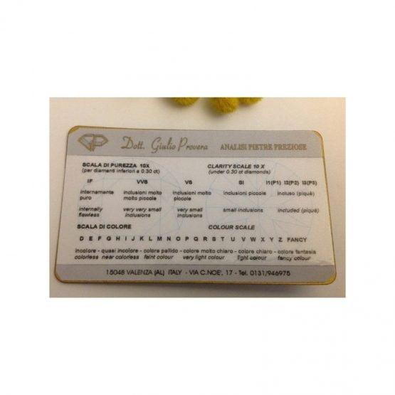 Diamante Naturale in Blister sigillato - ct 0.35