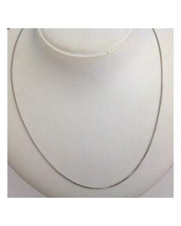 Catenina Unisex in argento massiccio 925 Rodiata