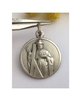 """Saint Andrew"" 925 Sterling Silver Medal"