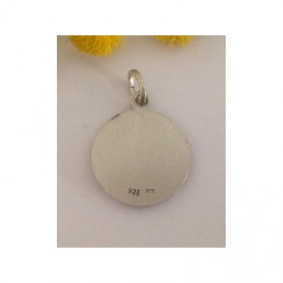 "Medaglietta "" Santa Lucia "" in argento 925 millesimi"