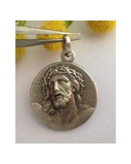 "Medaglietta "" Ecce Homo "" in Argento 925 millesimi"