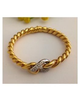 Bracciale in oro 18kt con Diamanti - gr. 41.89