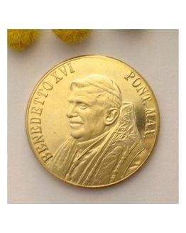 Medaglia Papa Benedetto XVI° / Piazza San Pietro