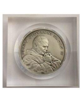 Medaglione della Beatificazione di Papa Giovanni Paolo II°