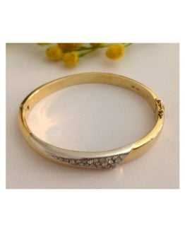 Bracciale in oro 18kt con Diamanti - gr. 25.85