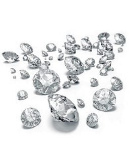 Diamanti da 0,01 a 0,10 ct