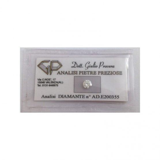 Diamante Naturale in Blister sigillato - ct 0.52