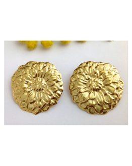 Orecchini in oro giallo 18kt - gr. 9.19